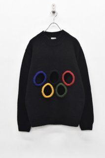 INFANONYMOUS / 5 Holes knit - BLACK