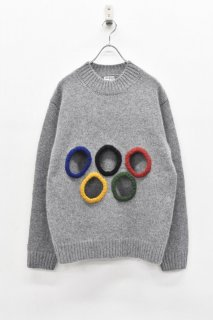 INFANONYMOUS / 5 Holes knit - GRAY