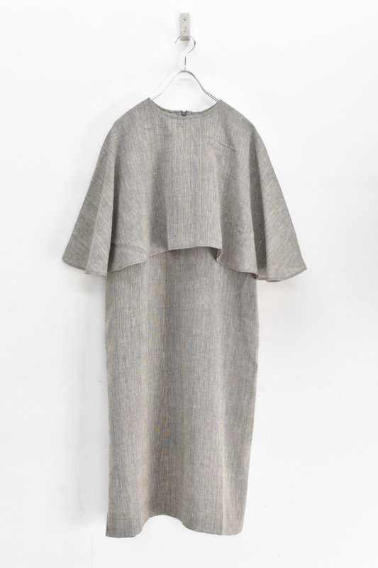 Natsumi Zama / Imoko Dress - BROWN