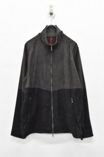 YANTOR / Suede Track Suit - CHARCOAL*BLACK