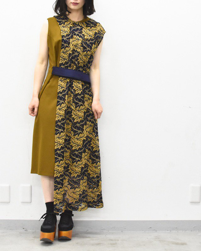 SHIROMA / layered lace dress