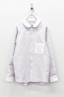 Ω / 丸襟シャツ - PINK