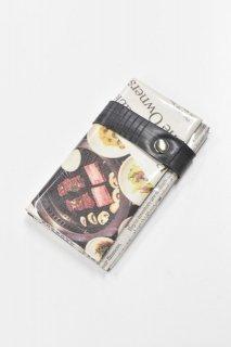 ANTI SYSTEM NEWS PAPER コインカードケース - 032