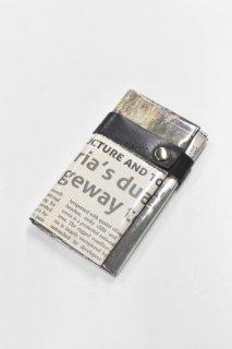 ANTI SYSTEM NEWS PAPER コインカードケース - 038
