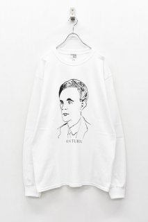 INFANONYMOUS / TURING L/S T-shirt - WHITE