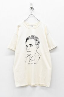 INFANONYMOUS / TURING S/S T-shirt - ECRU