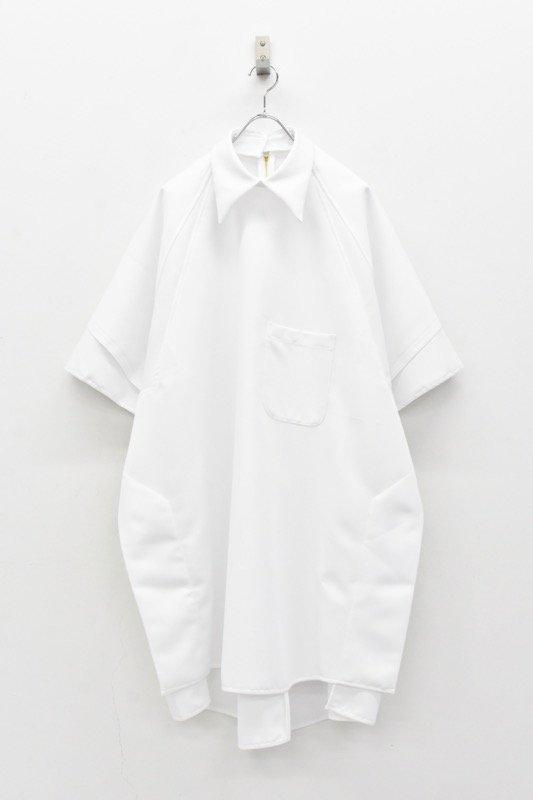 BALMUNG / バックオープンシャツ - 白