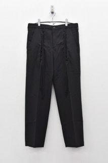 elephant TRIBAL fabrics / RACE UP WORL PT - BLACK