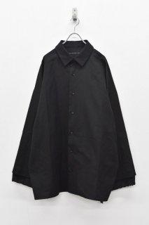 My Beautiful Landlet / レイヤードビッグシャツ - BLACK