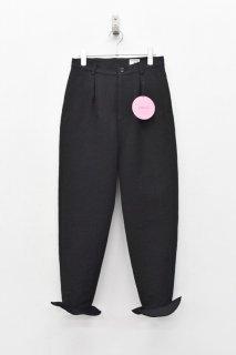 INFANONYMOUS / Frisbee Hem Pants - BLACK