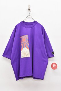elephant TRIBAL fabrics / FAT T - PURPLE
