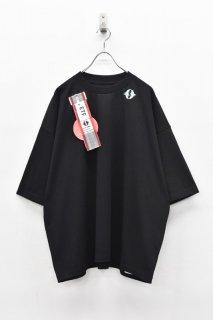 elephant TRIBAL fabrics / LEAVE BAGGAGE FAT T - BLACK
