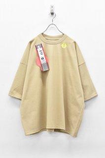 elephant TRIBAL fabrics / LEAVE BAGGAGE FAT T - BEIGE