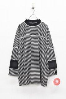 elephant TRIBAL fabrics / MOC NECK HOKKEY B/T - BLACK