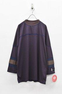 elephant TRIBAL fabrics / MOC NECK HOKKEY B/T - BROWN
