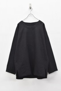 YANTOR / 6ply Khadi Pullover - BLACK