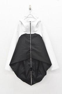 <先行予約> chloma / NFコンプレクスパーカー - ホワイト*ブラック