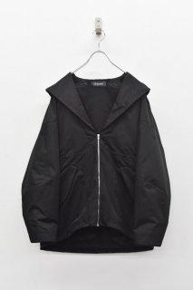 <先行予約> chloma / セイラーフードジャケット - ブラック