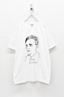 <再入荷>INFANONYMOUS / TURING S/S T-shirt - WHITE