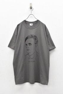 <再入荷>INFANONYMOUS / TURING S/S T-shirt - CHARCOAL