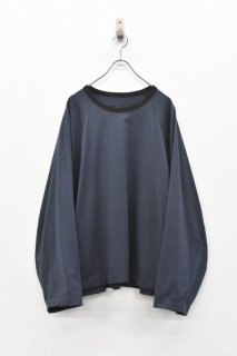 My Beautiful Landlet / リンガーL/S Tシャツ - CHARCOAL