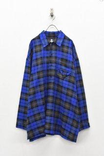 elephant TRIBAL fabrics / Inside Pocket Grandpa Shirt
