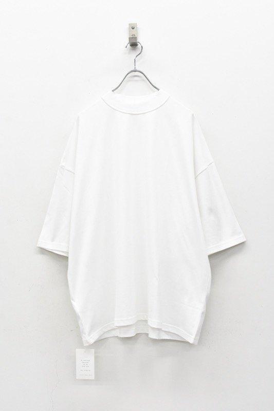 elephant TRIBAL fabrics / Inside Out Fat T - WHITE