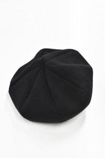 prasthana / snapback beret - BLACK