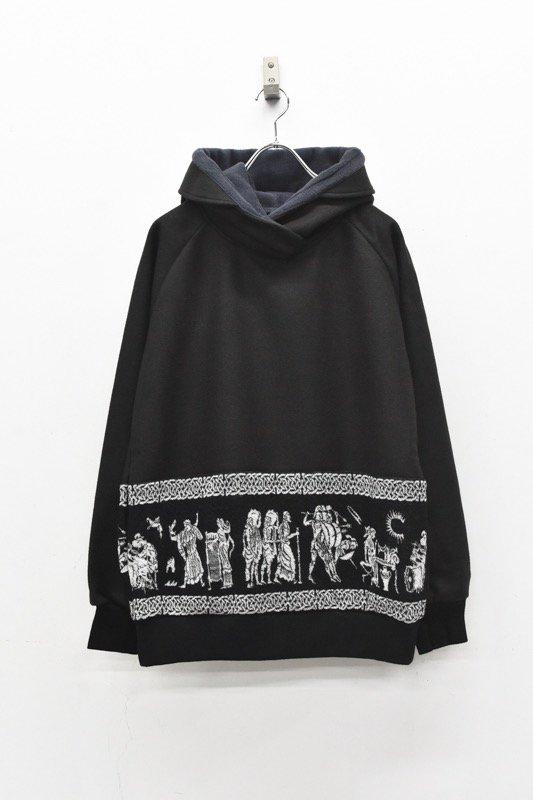 STORAMA / Mural JQ hoodie - BLACK