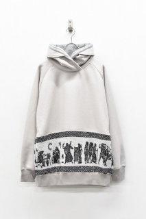 STORAMA / Mural JQ hoodie - GREY