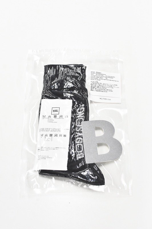 BODYSONG. / BUSINESSSOCKS - BLACK