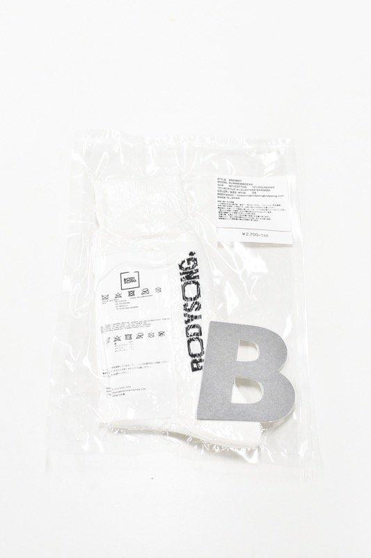 BODYSONG. / BUSINESSSOCKS - WHITE