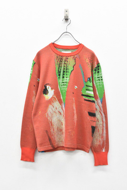 HATRA / Syn Feather Sweater - PENGUIN