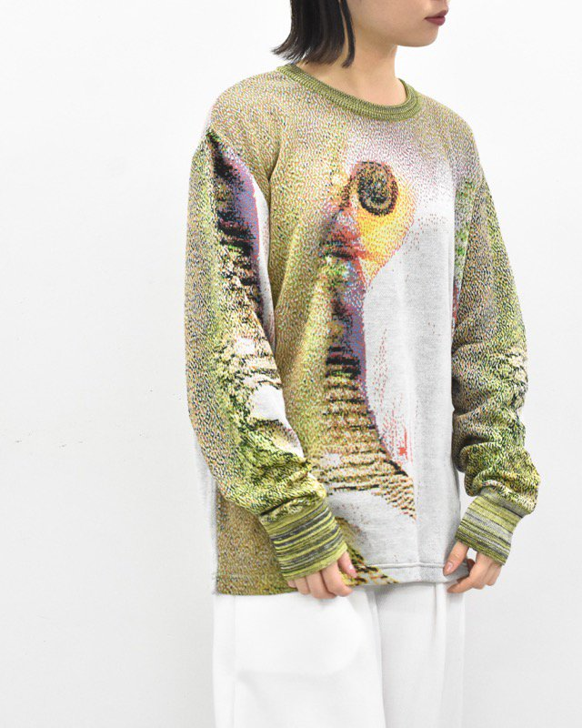 HATRA / Syn Feather Sweater - OWL
