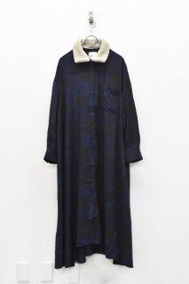 bedsidedrama / フォーチュンテラーシャツドレス - NAVY