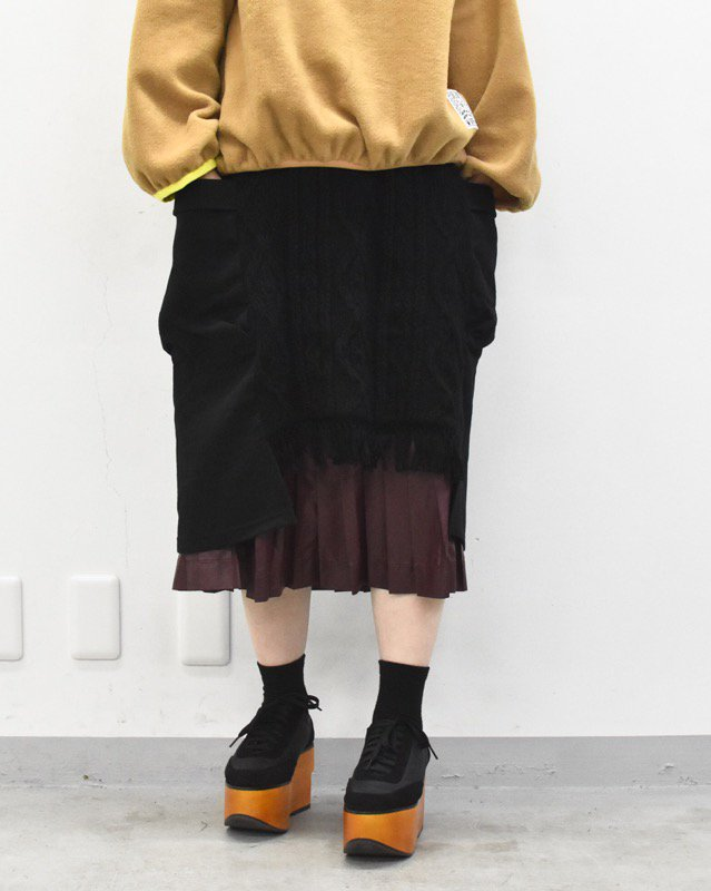 bedsidedrama / フォーチュンテラースカート - BLACK