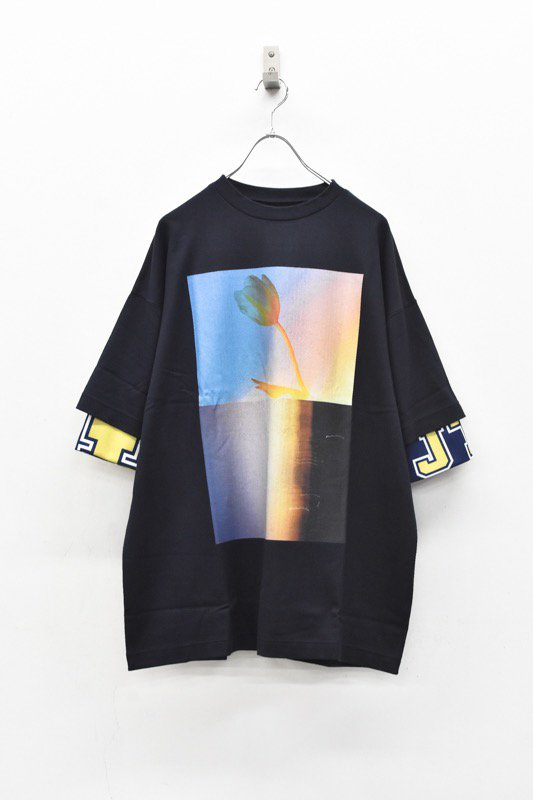 YEAH RIGHT!! / LAYER T - NAVY