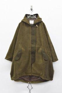 STORAMA / Fleece MODS wool coat - KHAKI