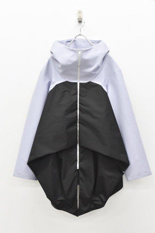 chloma / NFコンプレクスパーカー - モスブルー*ブラック