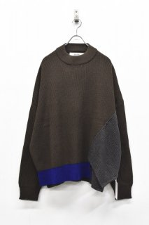 elephant TRIBAL fabrics / It's Of Knit - BROWN