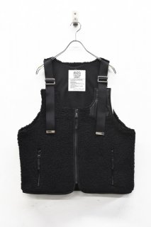 elephant TRIBAL fabrics / Boa Strap Best - BLACK