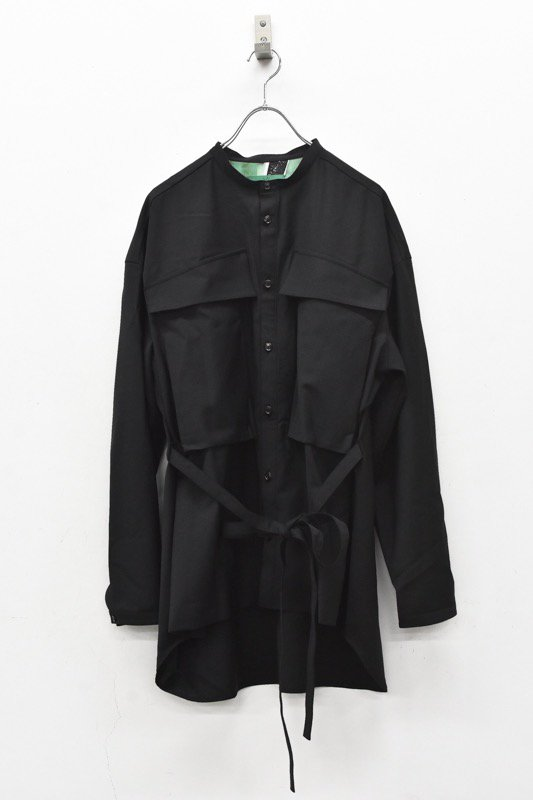 ohta /  black shirts jacket