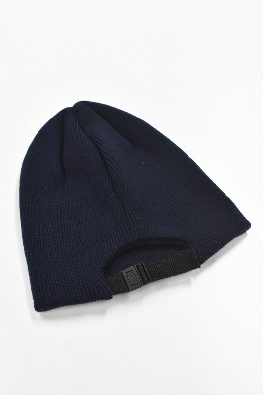 YEAH RIGHT!! / KNIT ADJUST CAP - NAVY
