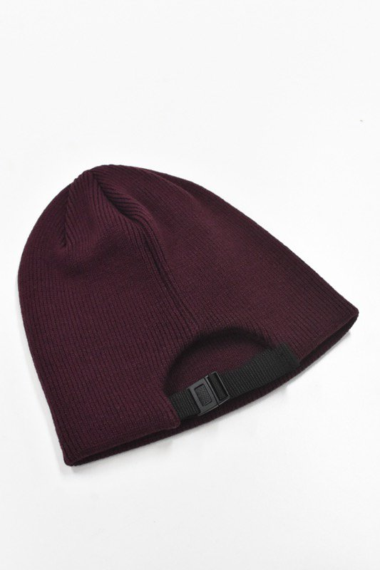 YEAH RIGHT!! / KNIT ADJUST CAP - BORDEAUX