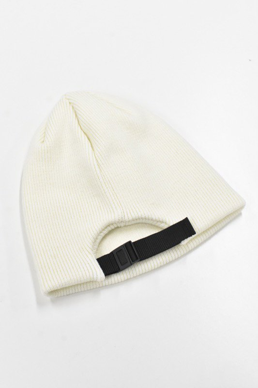 YEAH RIGHT!! / KNIT ADJUST CAP - O.WHITE