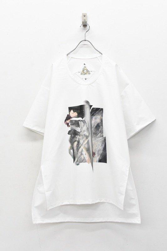 BALMUNG / グラフィックビッグTシャツ - STONE