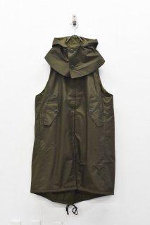 先行予約 prasthana / 被覆 hooded sleeveless coat