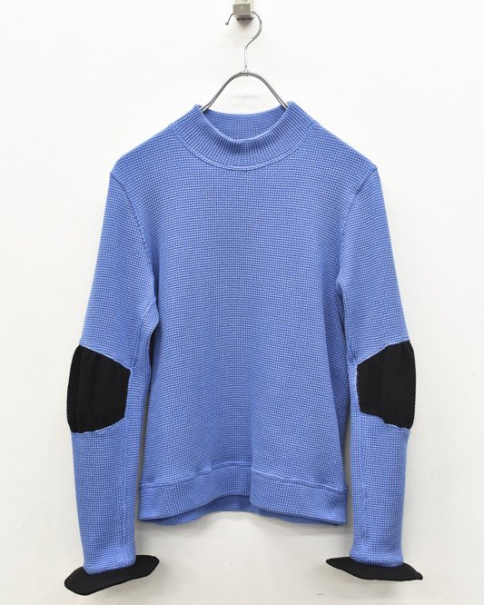 INFANONYMOUS / Frisbee Cuff Pullover - DUST BLUE