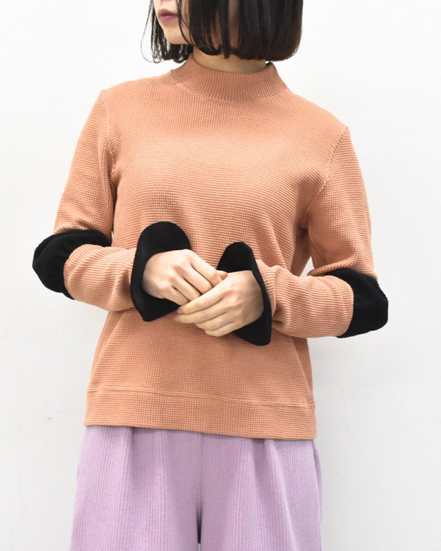 INFANONYMOUS / Frisbee Cuff Pullover - CORAL