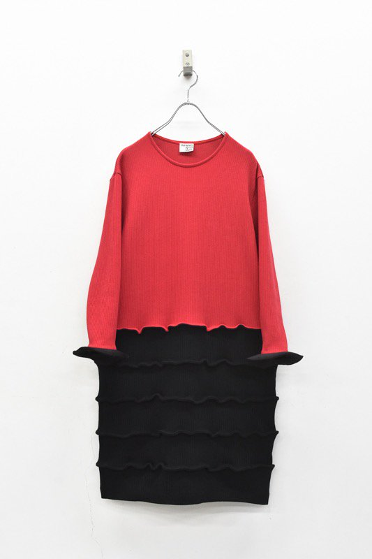 INFANONYMOUS / Abacus Dress - RED